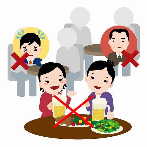 目的や中身のない飲み会の例
