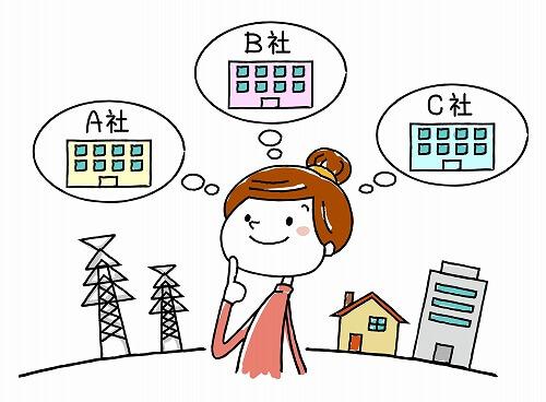 契約する電力会社の変更