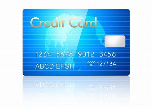 クレジットカードでの支払い
