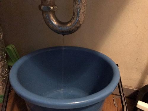 水漏れの様子