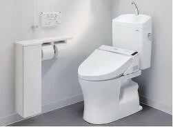 最新の節水型トイレ