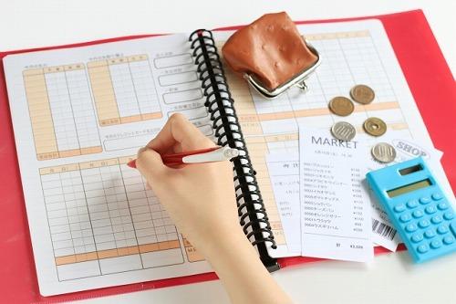 家計簿での収支管理