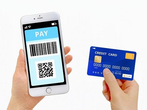 クレジットカードとQRコード